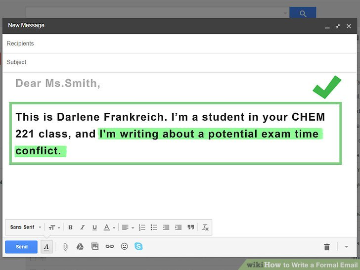 4 Ways to Write a Formal Email - wikiHow