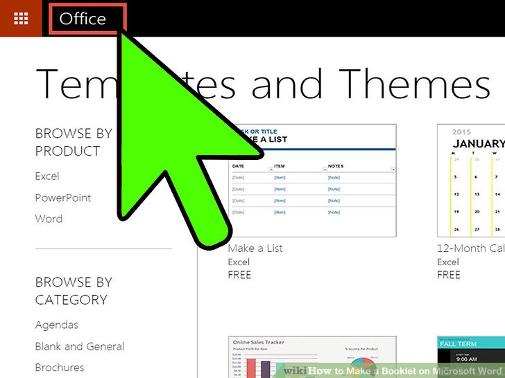2 Easy Ways to Make a Booklet on Microsoft Word - wikiHow - booklet template microsoft word