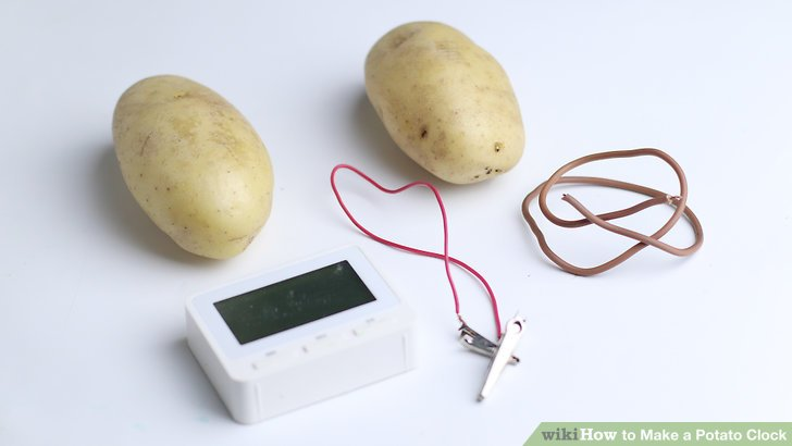 Potato Clock Diagram Wiring Diagram