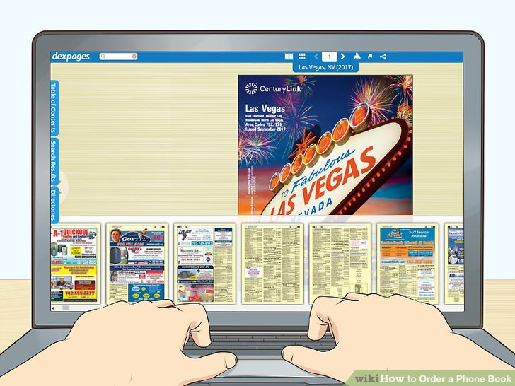 How to Order a Phone Book 8 Steps (with Pictures) - wikiHow