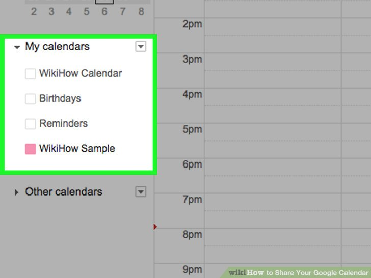 How to Share Your Google Calendar 14 Steps (with Pictures)