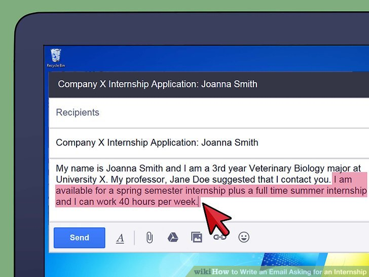 How to Write an Email Asking for an Internship (with Sample Emails) - how to write a resume email