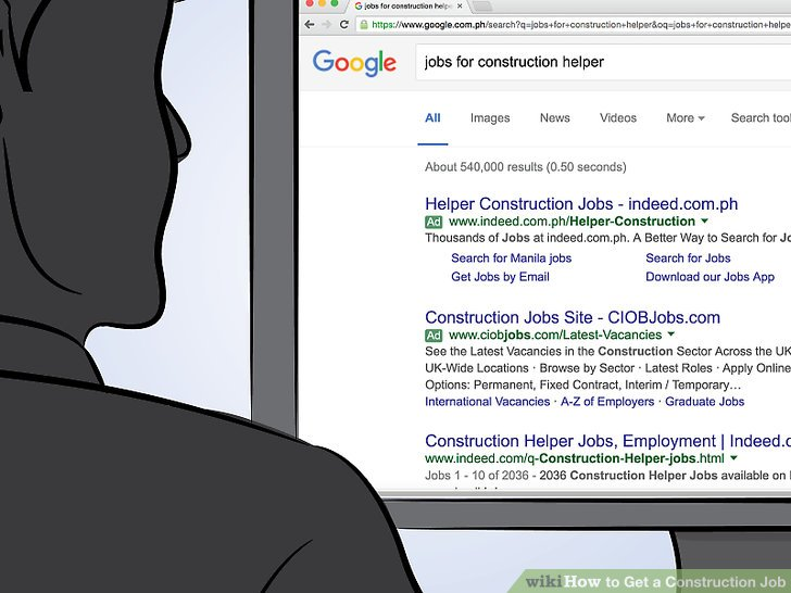 3 Ways to Get a Construction Job - wikiHow