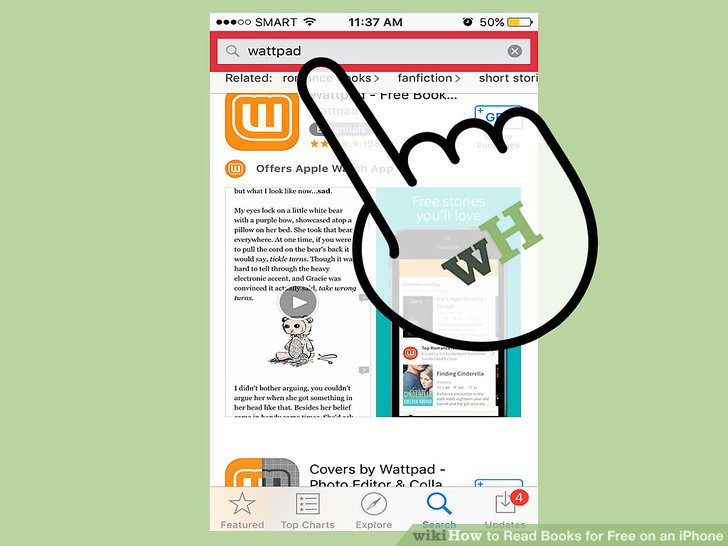 3 Ways to Read Books for Free on an iPhone - wikiHow - would 4 free
