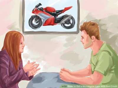 3 Ways to Get a Motorcycle Loan With Bad Credit - wikiHow