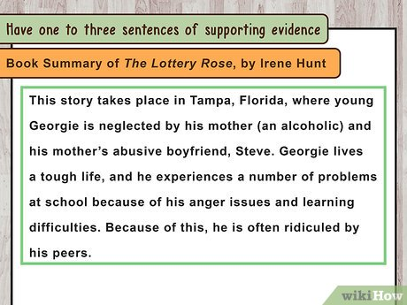 How to Start a Summary Paragraph 10 Steps (with Pictures)