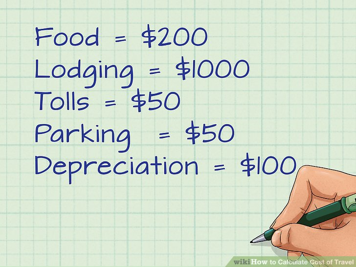 How to Calculate Cost of Travel 3 Steps (with Pictures) - wikiHow