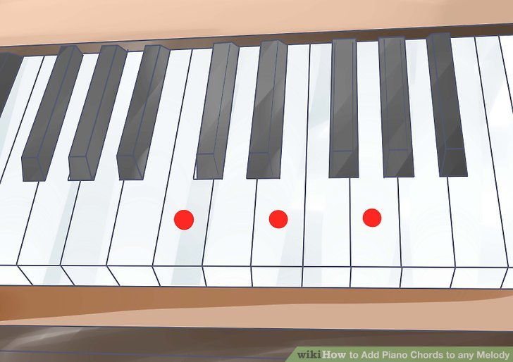 How to Add Piano Chords to any Melody 12 Steps (with Pictures)