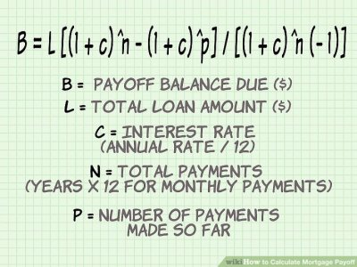 How to Calculate Mortgage Payoff: 9 Steps (with Pictures)