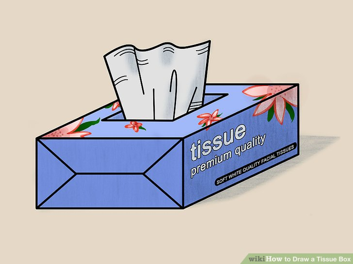 How To Draw A Tissue Box 6 Steps With Pictures Wikihow