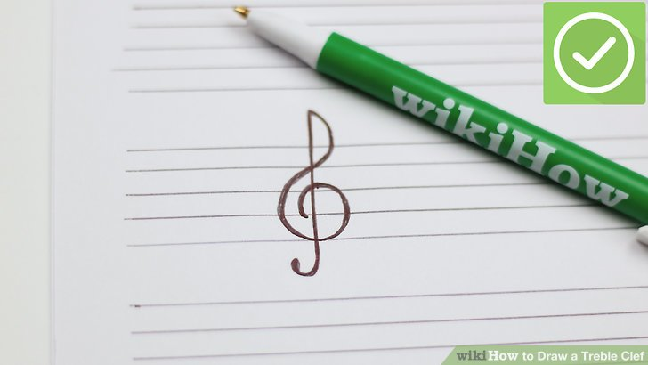 How to Draw a Treble Clef 8 Steps (with Pictures) - wikiHow