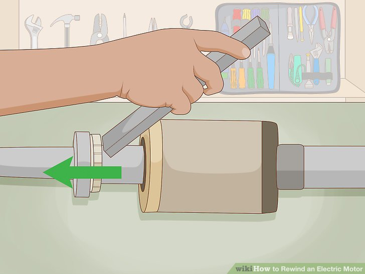 How to Rewind an Electric Motor 14 Steps (with Pictures)