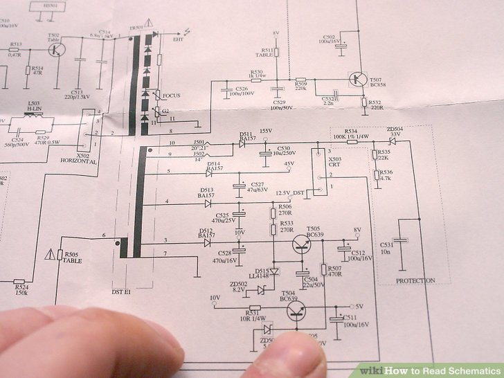 How to Read Schematics 5 Steps (with Pictures) - wikiHow