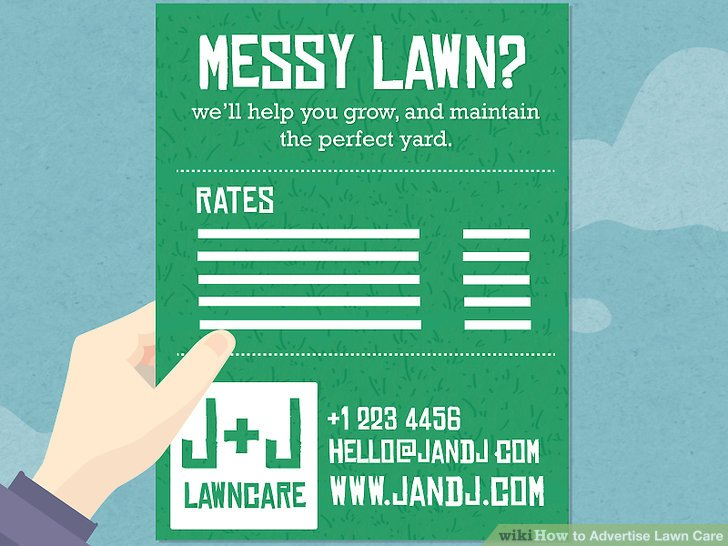 3 Ways to Advertise Lawn Care - wikiHow