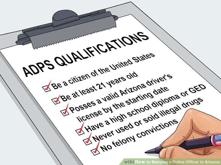 3 Ways to Become a Police Officer in Arizona - wikiHow