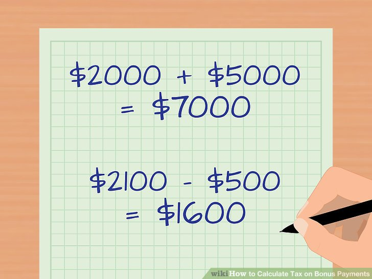 How to Calculate Tax on Bonus Payments 13 Steps (with Pictures) - payroll tax calculator nyc