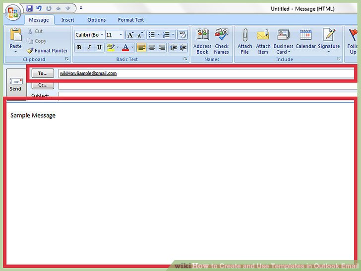 How to Create and Use Templates in Outlook Email (with Sample Templates)