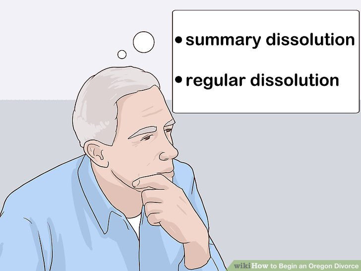 How to Begin an Oregon Divorce 11 Steps (with Pictures) - wikiHow - blank divorce papers