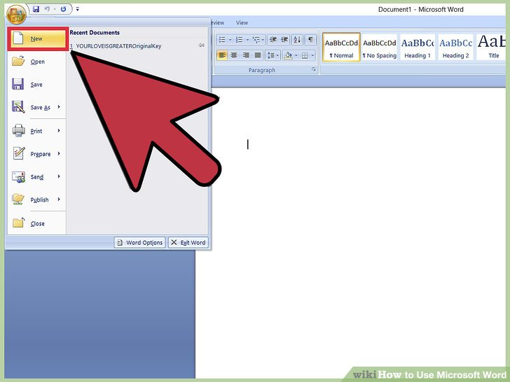 How to Use Microsoft Word (with Pictures) - wikiHow