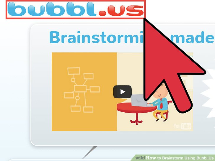 How to Brainstorm Using BubblUs 8 Steps (with Pictures)