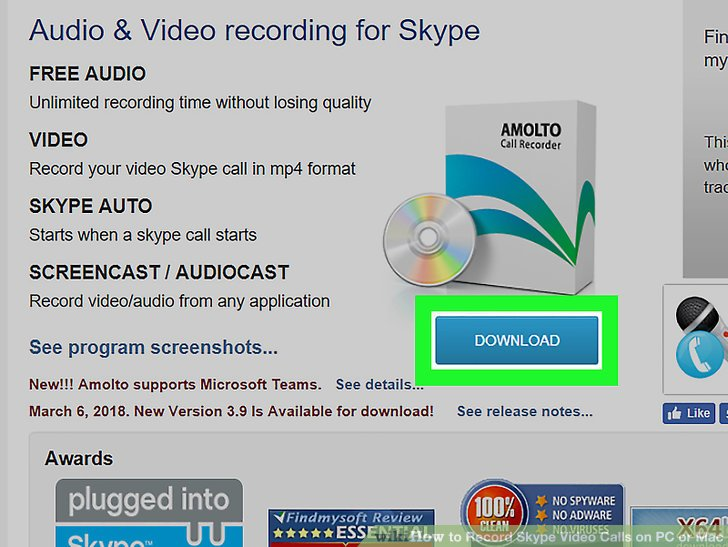 How to Record Skype Video Calls on PC or Mac 7 Steps - Record Skype Video Calls
