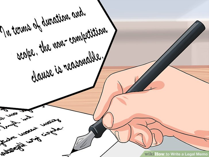 How to Write a Legal Memo (with Pictures) - wikiHow