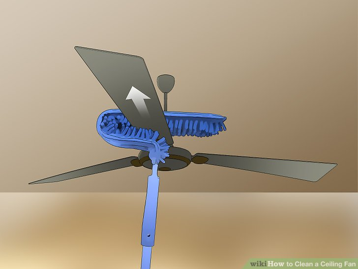 3 Ways to Clean a Ceiling Fan