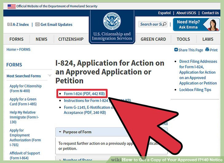 How to Get a Copy of Your Approved I\u2010140 Notice 14 Steps