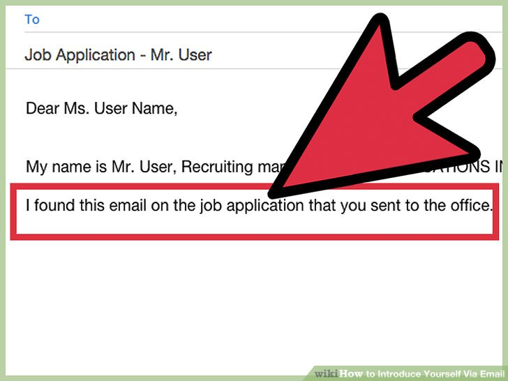 3 Ways to Introduce Yourself Via Email - wikiHow - sample resume email introduction