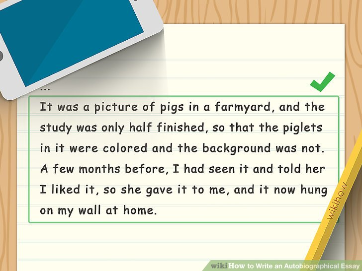 How To Write Autobiography Essay