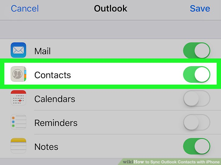 How to Sync Outlook Contacts with iPhone 12 Steps (with Pictures)