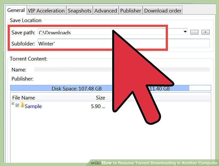 How to Resume Torrent Downloading in Another Computer 10 Steps - how to download a resume