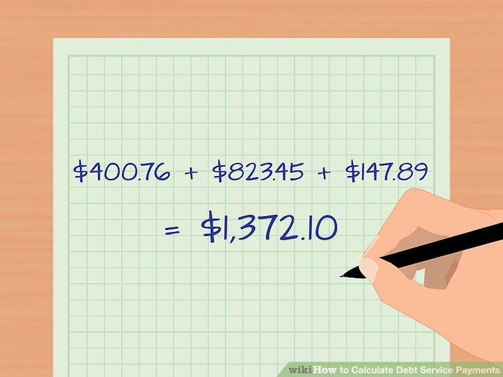 3 Ways to Calculate Debt Service Payments - wikiHow