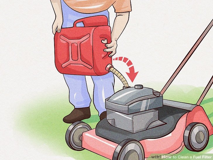 How to Clean a Fuel Filter (with Pictures) - wikiHow