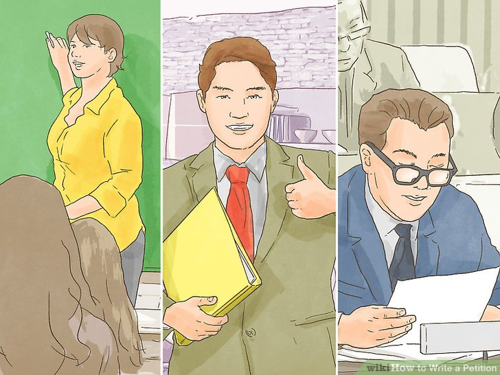 The Best Way to Write a Petition - wikiHow - how to research your cause for writing the petition