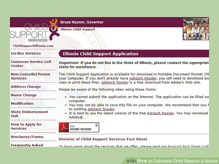 How to Calculate Child Support in Illinois (with Pictures)