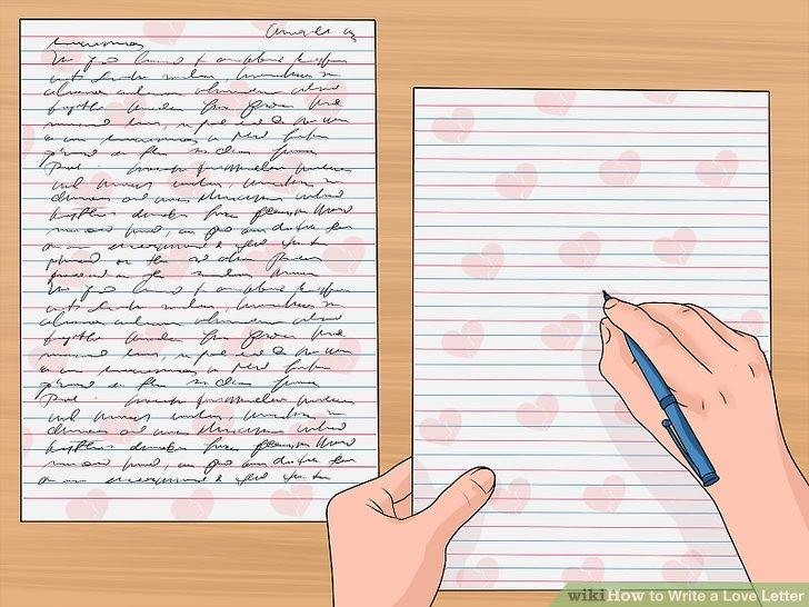 How to Write a Love Letter (with Sample Letters) - wikiHow - love letter