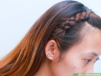 How to Braid Short Hair (with Pictures) - wikiHow