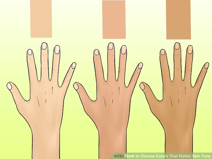 How to Choose Colors That Flatter Skin Tone 11 Steps
