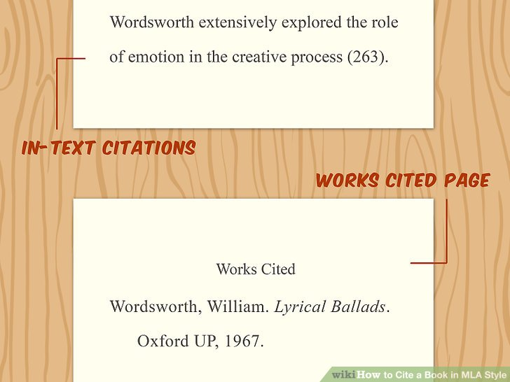 3 Ways to Cite a Book in MLA Style - wikiHow
