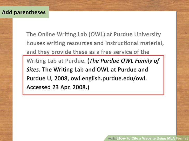 citing an essay mla how to cite a website using mla format steps