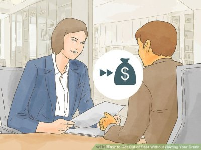 4 Ways to Get Out of Debt Without Hurting Your Credit - wikiHow