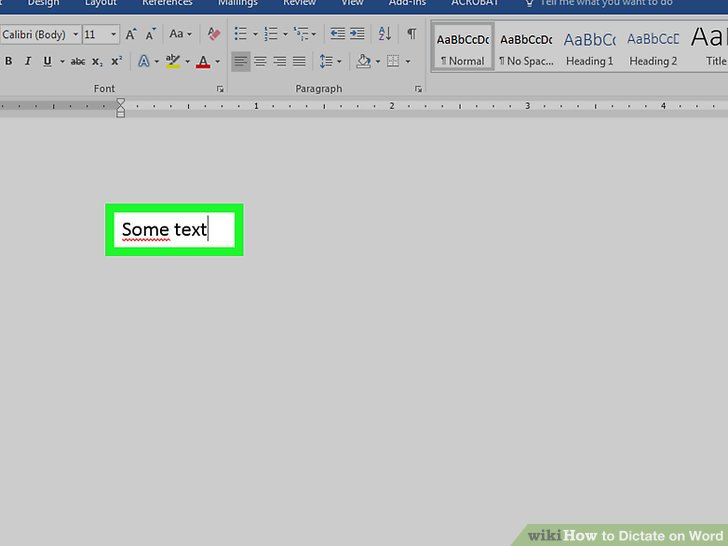 How to Dictate on Word (with Pictures) - wikiHow - on word