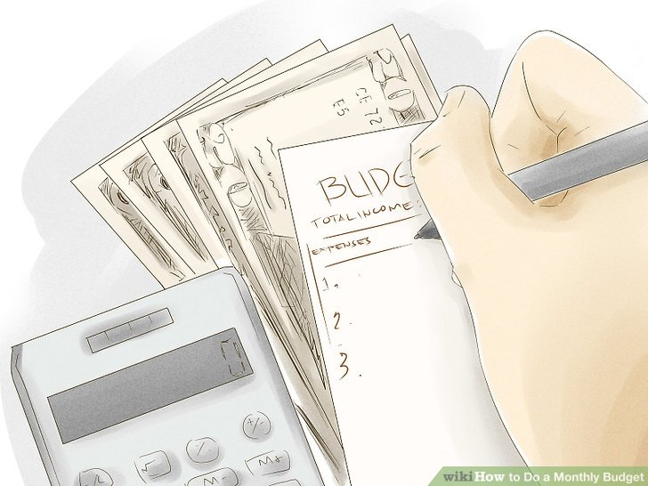 How to Do a Monthly Budget (with Examples) - wikiHow