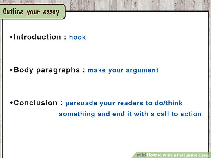 How to Write a Persuasive Essay (with Free Sample Essay) - Persuasive Essay Example