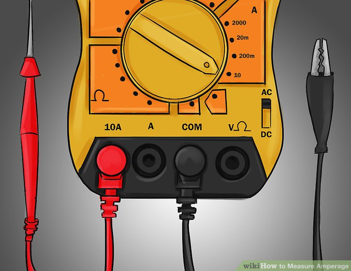 How to Measure Amperage 7 Steps (with Pictures) - wikiHow
