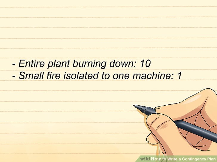 The Best Ways to Write a Contingency Plan - wikiHow