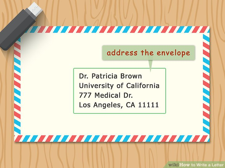 3 Ways to Write a Letter - wikiHow