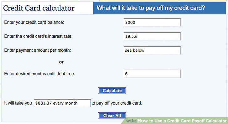 pay off your credit card calculator kleobeachfix