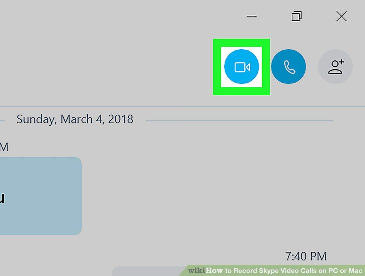 How to Record Skype Video Calls on PC or Mac 6 Steps - wikiHow